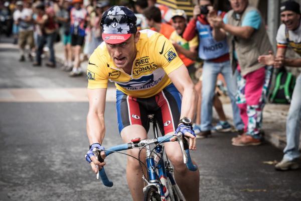 Bild 1 von 14: Lance Armstrong (Ben Foster), siebenfacher Gewinner der Tour de France.