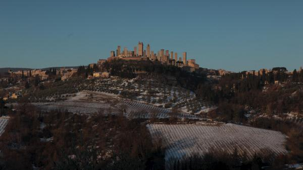 Bild 1 von 14: Ende des 13. Jahrhunderts wachsen die ersten Skylines in den Himmel. San Gimignano zeugt bis heute vom Bauwahn der berühmtesten Familien \