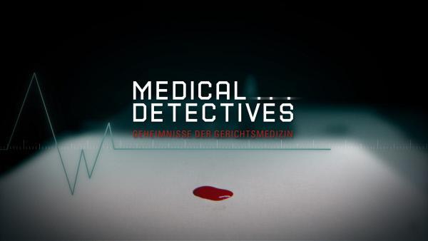Bild 1 von 2: Das Logo zur Sendung 'Medical Detectives'