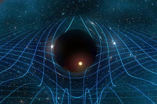Bild 1 von 6: Schwarze Löcher besitzen weder Ende noch Anfang: Es handelt sich um eine physikalische Entität mit unendlicher Dichte. Schwarze Löcher sind selbst dazu fähig, das Raum-Zeit-Kontinuum zu verändern.