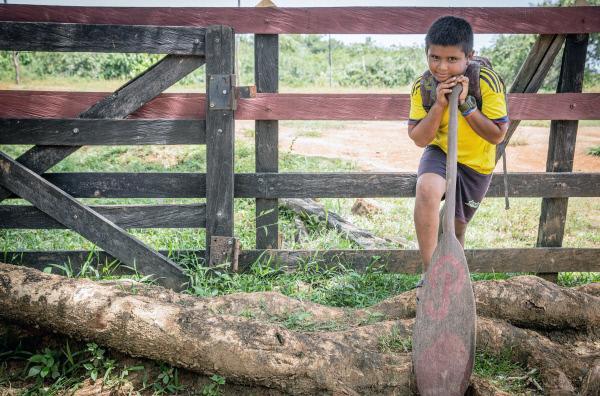 Bild 1 von 3: Der zehnjährige Juan lebt auf einer Farm bei seinen Großeltern. Er will eines Tages Ingenieur werden.