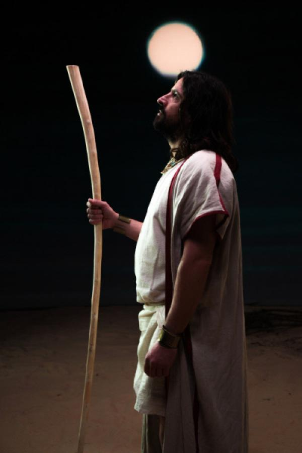 Bild 1 von 4: Rekonstruktion von Moses.