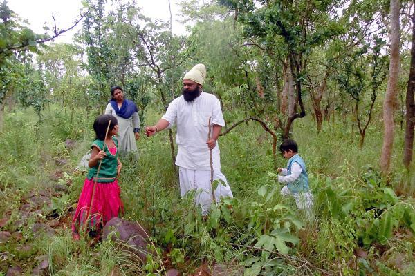 Bild 1 von 6: Das Wissen über Heilpflanzen gehört zur uralten Tradition der Vaidyas in Indien. Sie geben dieses Wissen von Generation zu Generation weiter.