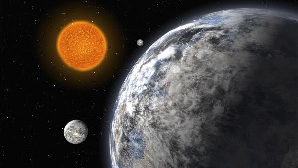 """Bild 1 von 3: Unerm?dlich forscht die Wissenschaft weiter nach Himmelsk?rpern, die mit unserer Erde vergleichbar sind. Bisher scheint der Planet """"Kepler-452b"""" ihr am ?hnlichsten zu sein."""