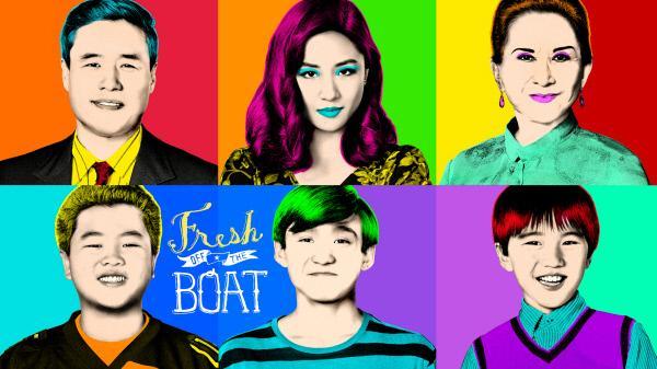 Bild 1 von 17: (5. Staffel) - Fresh off the boat - Artwork