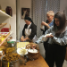 Ab ins Kloster! - Rosenkranz statt Randale