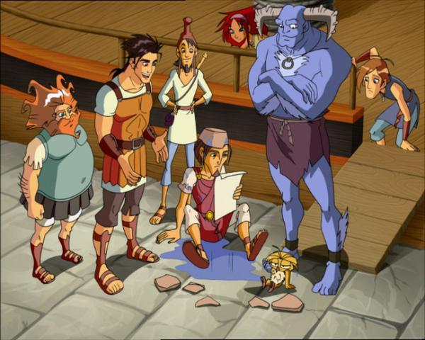 Bild 1 von 5: Nach seinem glorreichen Sieg über Troja macht sich unser junger Held Odysseus auf den Weg zu seiner Familie. Doch auf seiner langen Reise nach Ithaka ist er dem rachsüchtigen Zorn Poseidons gnadenlos ausgeliefert?