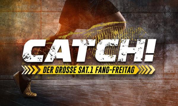 Bild 1 von 15: Catch! Der große SAT.1 Fang-Freitag - Logo