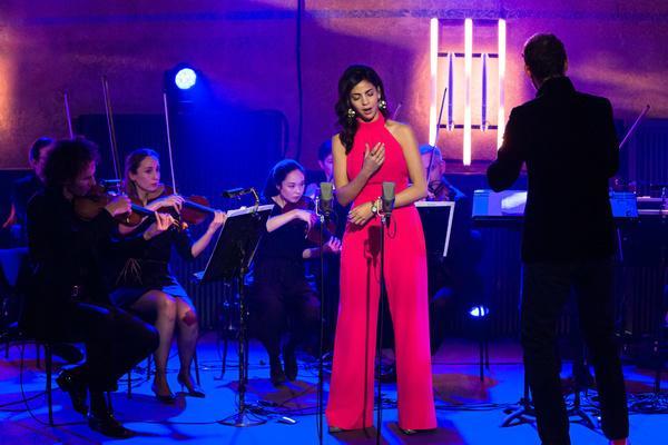 Bild 1 von 11: Sopranistin Fatma Said singt neben den zwei spanischen Liedern \