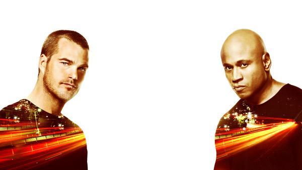Bild 1 von 17: (9. Staffel) - Navy CIS: L.A.: Special Agent G. Callen (Chris O'Donnell, l.) und Special Agent Sam Hanna (LL Cool J, r.) ...