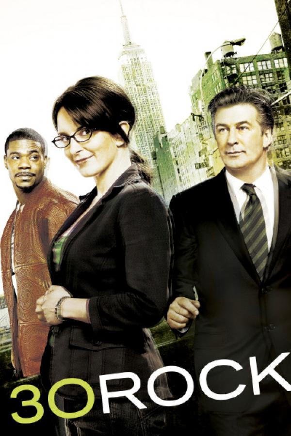 Bild 1 von 32: 1. Staffel: (v.l.) Tracy Jordan (Tracy Morgan), Liz Lemon (Tina Fey) und Jack Donaghy (Alec Baldwin)