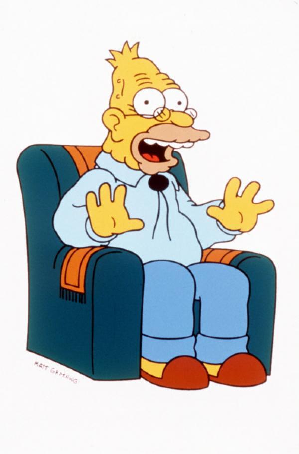 Bild 1 von 11: (9. Staffel) - Grandpa Simpson spielt eine große Rolle im chaotischen Familien-Clan.
