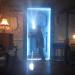 Hinter der blauen Tür
