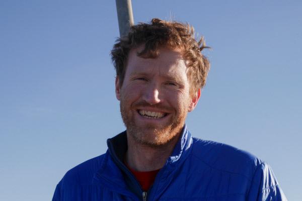 Bild 1 von 2: Moderator Michael Düchs.