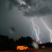 Blitzgewitter - Himmel unter Strom