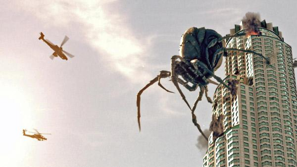 Bild 1 von 6: Eine Riesenspinne terrorisiert Los Angeles..