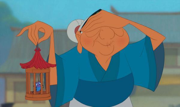 Bild 1 von 42: Entstanden nach einer alten chinesischen Legende bietet Disneys 36. Meisterwerk ein großartiges Abenteuer voller Spaß und drachenstarker Sprüche. Die Hunnen bedrohen China. Als das tapfere Mädchen Mulan erfährt, dass auch ihr kranker Vater in den Krieg ziehen soll, fasst sie einen mutigen Entschluss: Sie verkleidet sich als Mann und nimmt den Platz ihres Vaters in der kaiserlichen Armee ein. Doch bevor sie gegen das Heer des skrupellosen Hunnenführers Shan-Yu zieht, kommt sie zur Ausbildung in ein Trainingslager, wo ein Haufen tollpatschiger Anfänger für viel Aufregung sorgt. Zum Glück stehen Mulan ihre treuen Freunde, der vorlaute Drache Mushu und die Glücksgrille Kriki, immer mit Rat und Tat zur Seite. Aber Mushus flotte Sprüche allein reichen nicht, um den übermächtigen Feind zu besiegen. Sie muss lernen, ihren eigenen Weg zu gehen.