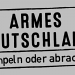 Armes Deutschland - Stempeln oder abrackern?