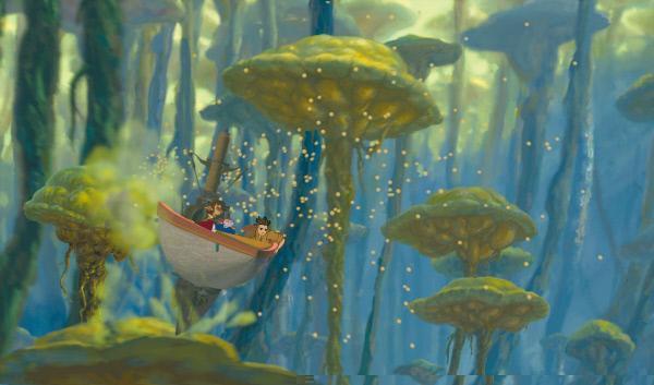 """Bild 1 von 21: Die größten Schätze von tausend Welten, die spannendsten Abenteuer der Galaxie, die kühnsten Weltraumpiraten aller Zeiten… Seit seiner Kindheit träumt der junge Jim Hawkins (dt. Synchronstimme: ROBERT STADLOBER) von der Suche nach dem sagenumwobenen Planeten, auf dem der Pirat Flint einen geheimnisumwitterten Schatz versteckt haben soll. Als Jim durch Zufall in den Besitz einer Schatzkarte gelangt beginnt das größte Abenteuer seines Lebens. Jim ist sicher, irgendwo am Ende des Universums liegt er: DER SCHATZPLANET. Zusammen mit dem Astronom Dr. Doppler (THOMAS FRITSCH) bricht er deshalb auf in die Weiten des Universums. Auf der Weltraumgaleone """"Legacy"""" schließt er schnell Freundschaft mit dem Schiffskoch John Silver (JOCHEN STRIEBECK), einem Cyborg, der halb Mensch, halb Maschine ist und auch mit Morph, einem hyperaktiven Formwandler hat er jede Menge Spaß... Doch dann übernimmt Silver das Kommando auf der """"Legacy"""" - er will den Schatz für sich alleine. Ein Glück, dass Jim auf B.E.N. (MIRCO NONTSCHEW), den liebenswerten, leicht durchgeknallten Androiden trifft. Der hat zwar nicht alle Chips auf der Festplatte, hilft dem jungen Abenteurer jedoch ein gewaltiges Stück weiter. Ein Wettlauf mit der Zeit beginnt…"""