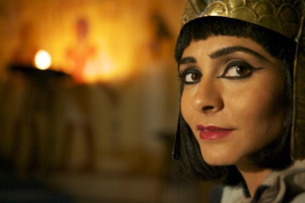Bild 1 von 1: Die Heldin der Antike. Kleopatra (Darstellerin unbekannt) war nicht nur schön, sondern auch eine gewiefte Politikerin.