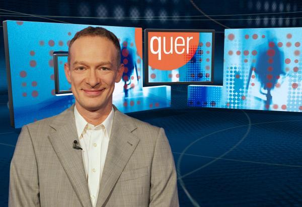 """Bild 1 von 2: """"quer""""-Moderator Christoph S??."""