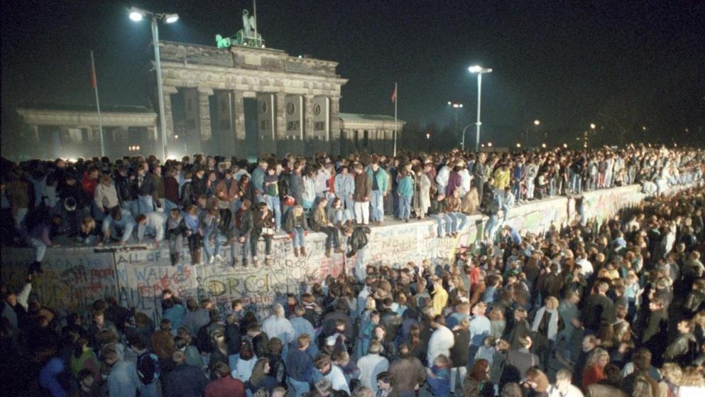 30 Jahre Mauerfall - Jubiläumsfeier in Berlin