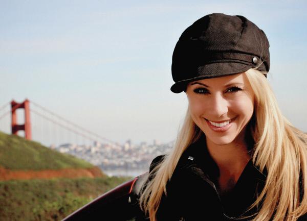 Bild 1 von 4: Nicole Berchtold in San Francisco