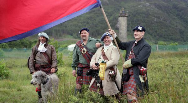 Bild 1 von 1: Jeder Clan hat sein eigenes Schottenkaro.