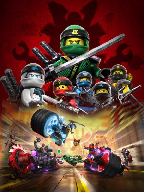 Bild 1 von 2: Die Ninja haben einen neuen Gegner, der frecher und gefährlicher ist, als alle Gegner zuvor: Garmadons Motorrad-Gang. Die Bösewichte wollen die Oni-Masken stehlen und wieder vereinen, um Garmadon wieder zum Leben zu erwecken. Doch diese Rechnung haben sie ohne die Ninja gemacht!