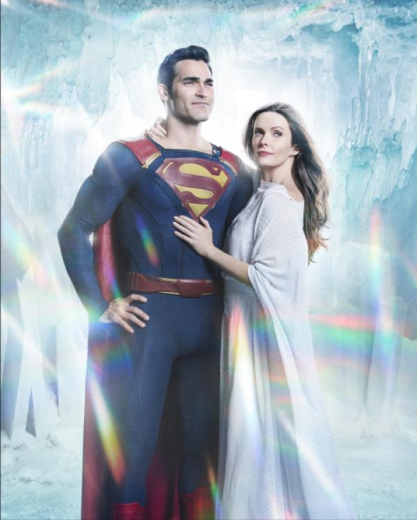Bild 1 von 10: Clark Kent alias Superman (Tyler Hoechlin, l.); Lois Lane (Elizabeth Tulloch, r.)