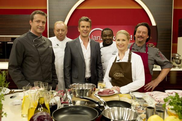 Bild 1 von 1: Alexander Herrmann, Alfons Schuhbeck, Markus Lanz, Nelson Müller, Cornelia Poletto, Kolja Kleeberg