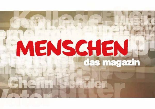 """Bild 1 von 2: Sendungslogo: """"Menschen - das Magazin""""."""