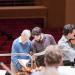 Blomstedt probt Beethoven