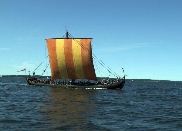 Bild 1 von 1: Rekonstruktion Wikingerschiff: Der \
