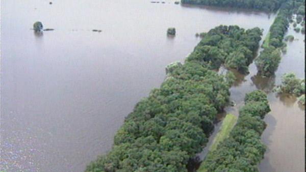 Bild 1 von 5: Sommer 1997: Brandenburg erlebt die größte Flutkatastrophe seiner Geschichte