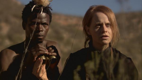 Bild 1 von 1: Mary Kingsley (Darstellerin unbekannt) in Afrika.