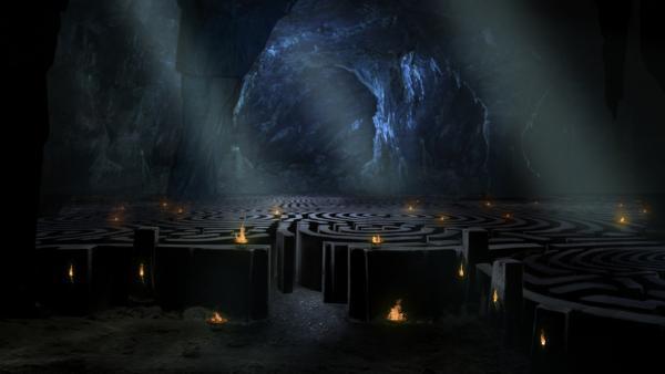 Bild 1 von 4: Der Minotaurus lebte der Legende nach in einem Labyrinth auf Kreta und ernährte sich von Menschenopfern.