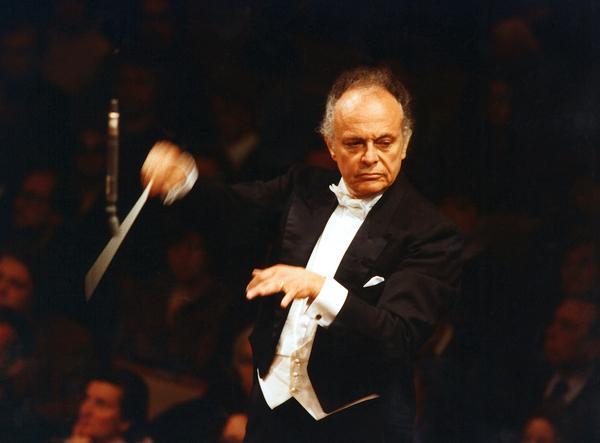 Bild 1 von 1: Dirigent Lorin Maazel.