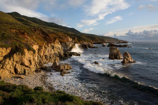 Bild 1 von 7: Der Pazifik an Amerikas Westküste