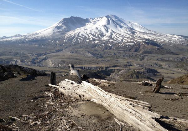 Bild 1 von 6: Mount St. Helens