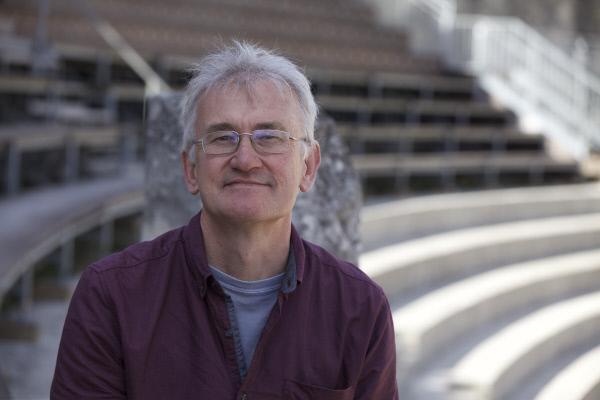 Bild 1 von 13: Der britische Historiker Prof. Peter Heather aus dem King?s College London während des Interviews für die Folge \