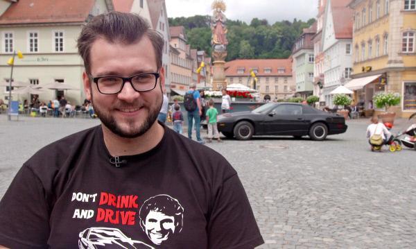 Bild 1 von 4: Florian Bertele aus Schwäbisch-Gmünd hat sich KITT aus \