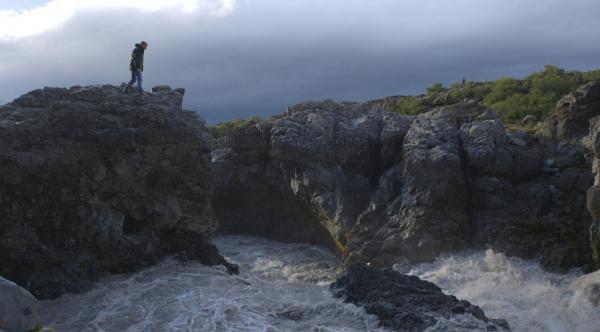 Bild 1 von 1: Professor Matthias Wemhoff auf den Spuren der Wikinger auf Island um das Jahr 1000.