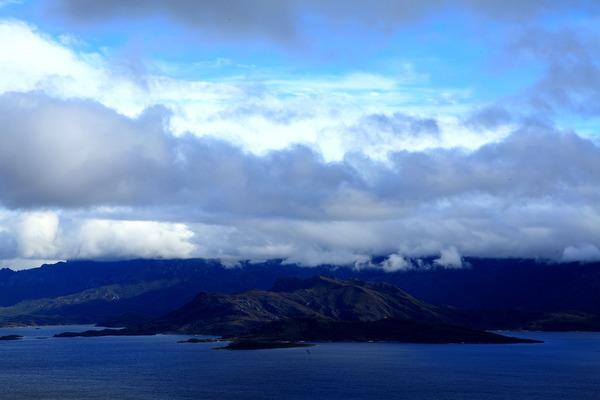 Bild 1 von 5: Tasmanien ist heute das letzte Stück Land vor dem nächstfolgenden Kontinent, der Antarktis. Hier erneut der Blick auf den Southwest-Nationalpark Tasmaniens