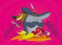 Zig sharko meerjungfrauen frisst man nicht das for Zig e shark