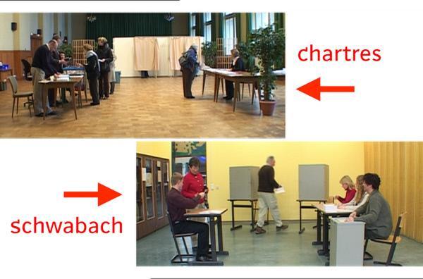 Bild 1 von 2: Anlässlich der Kommunalwahlen in Frankreich erklärt uns Claire Doutriaux, wie die Menschen in Frankreich und Deutschland wählen.