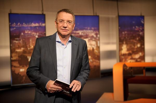 Bild 1 von 2: SR-Moderator Willibrord Ney