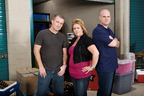 Bild 1 von 1: Lori and Brandon Bernier and Sean Kelly (v.l.n.r.)