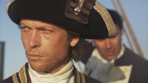 Bild 1 von 1: Zu Unrecht als Tyrann bekannt: William Bligh (Darsteller unbekannt), der Kommandeur der \