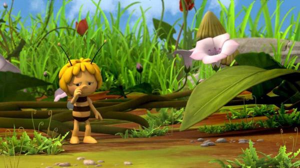 Bild 1 von 5: Alleine kann Maja die Ernte nicht einfahren.